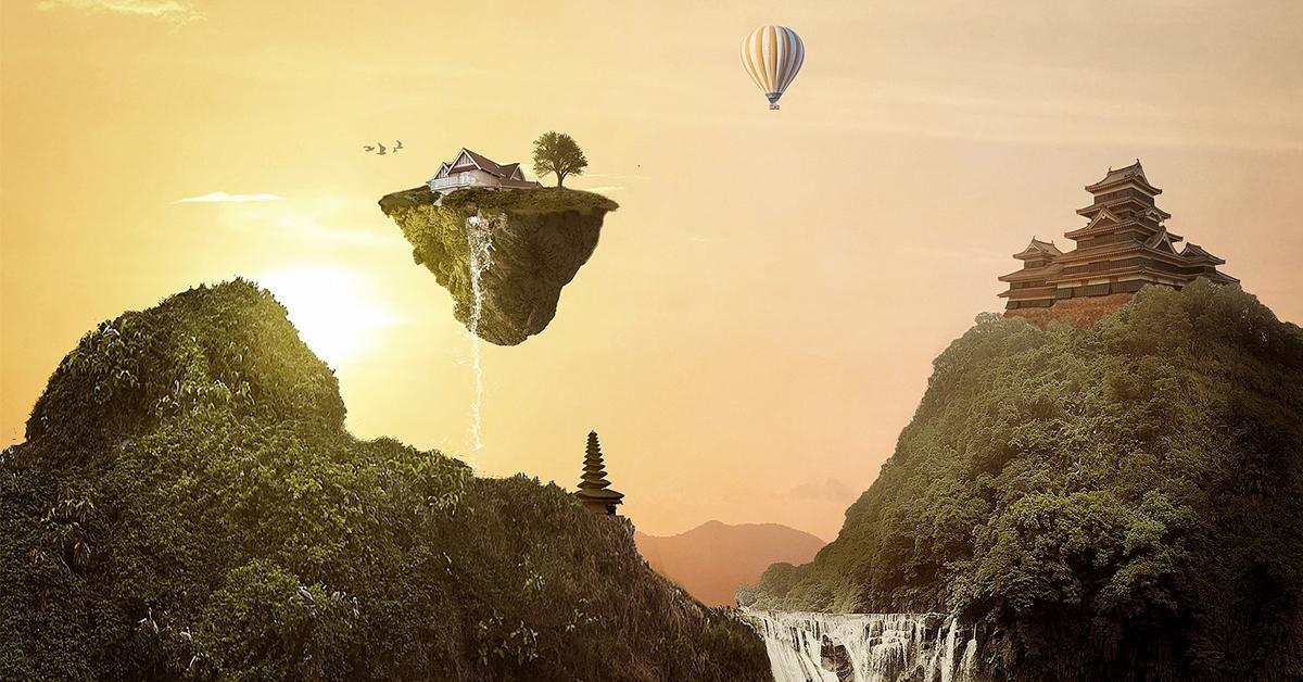 Flying island 1200x628