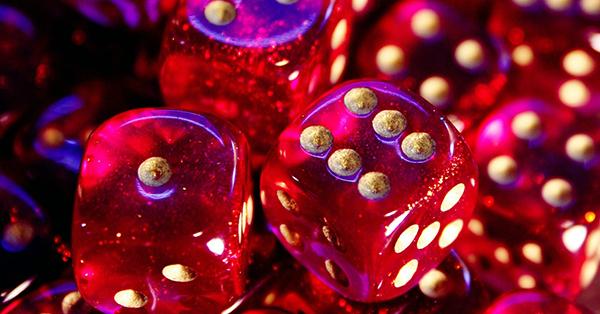 Six sided dice 600x314