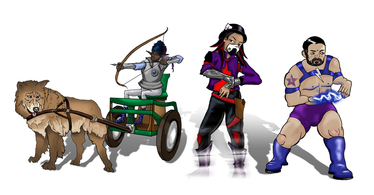 Unfamiliar Heroes Group 1200x628