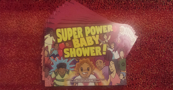 Super Power Baby Shower 600x314